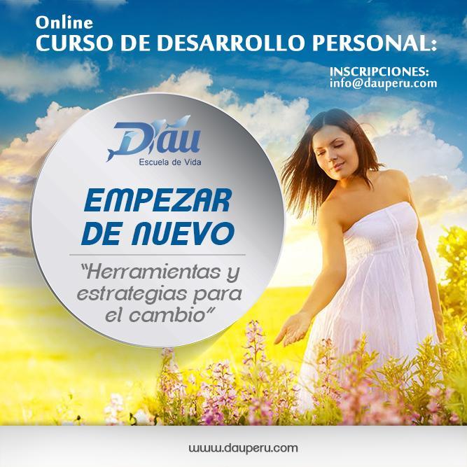 TODO EL AÑO - CURSO ONLINE - EMPEZAR DE NUEVO